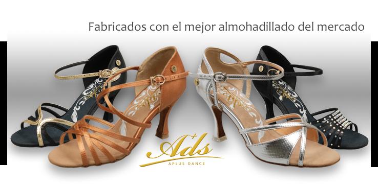 Zapatos De Baile Deportivo Ads Espana Latino Salon Y Salsa